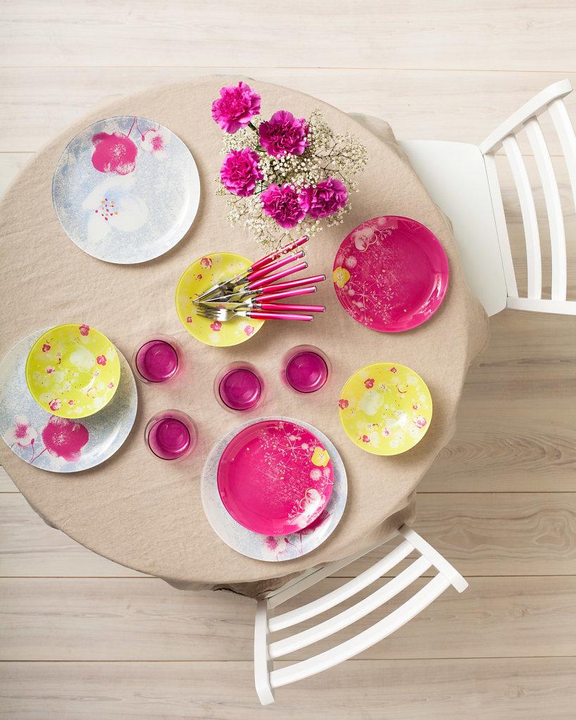Leclerc art de la table          Agence La vie en rose Photographe Laurent Rouvrais