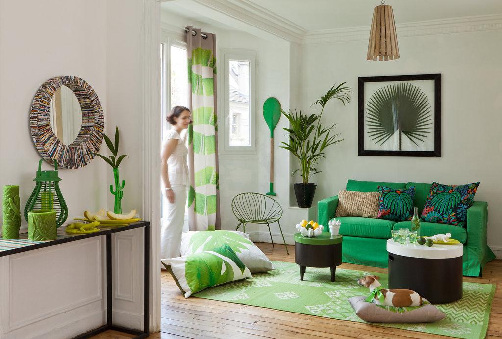 Green lounge Prima